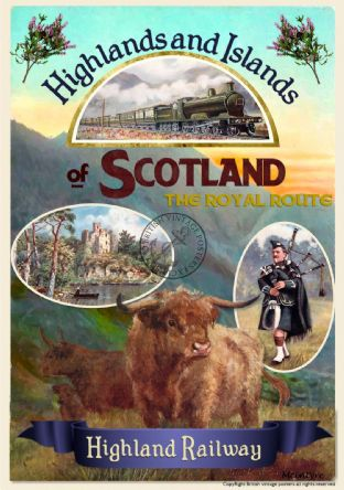 Scotland - Highland & Island Railway